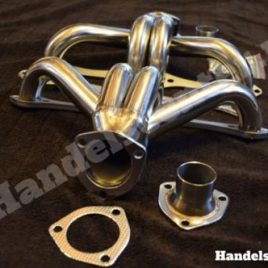 RVS Header set incl. pakking en bouten