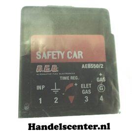 AEB 551 Afstelbaar LPG Veiligheidsrelais met instelbare choke tijd